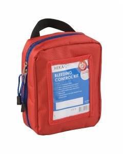 Heka bleeding control kit 10-delige set inclusief rood tasje