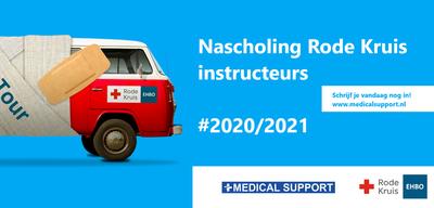 Nascholing Rode Kruis Instructeurs 2020